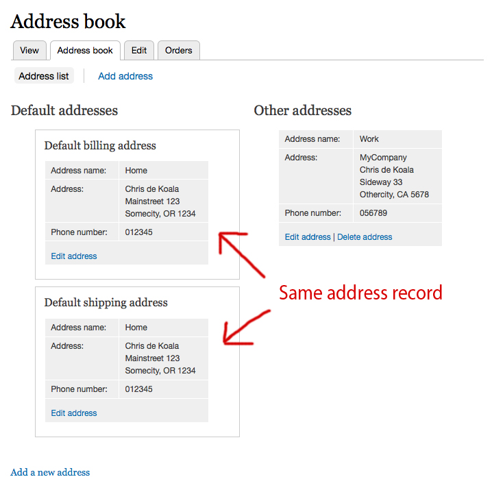 Redesign the address book page using Views 1433034 – Address Book Example