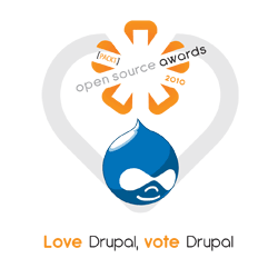 Support Drupal by voting in the 2010 Open Source Awards