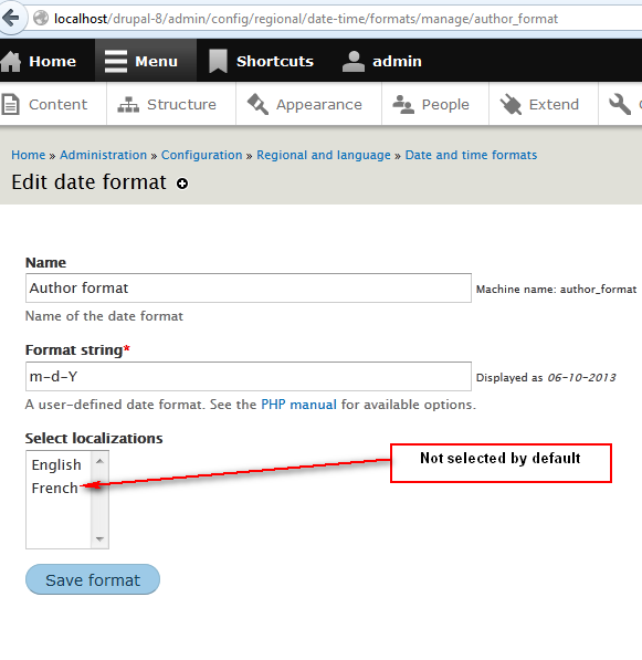 Convert date formats to config entities [#2003892] | Drupal org