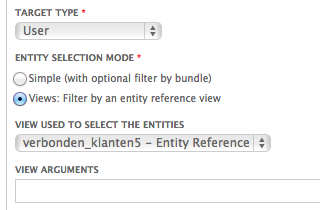 Entity Reference view to populate select list for reference