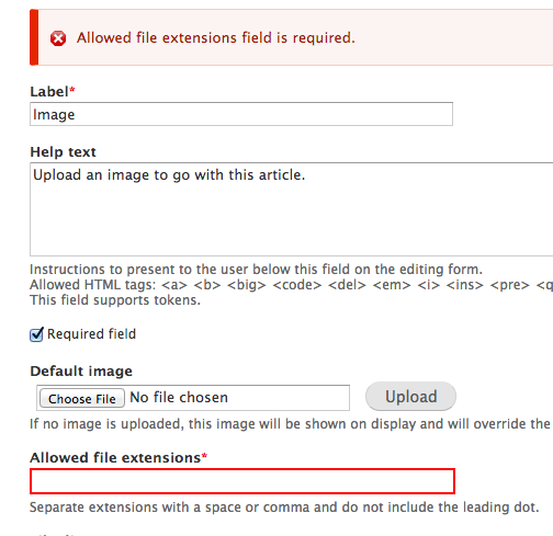 Allow forms to set custom validation error messages on required ...