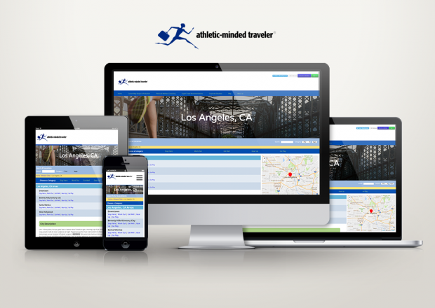 Athletic Minded Traveler - Responsive Adaptive Theme in Drupal 7
