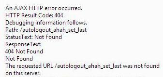 AJAX ERROR 404 NOT FOUND [#2014473] | Drupal org
