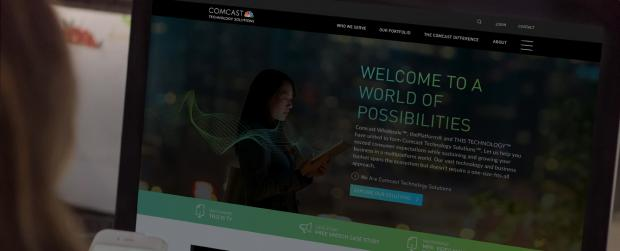 Comcast banner