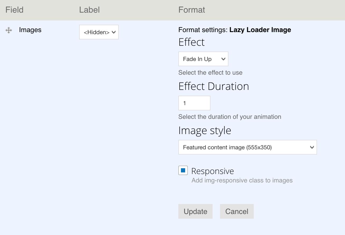 Image Lazy Loader   Drupal org