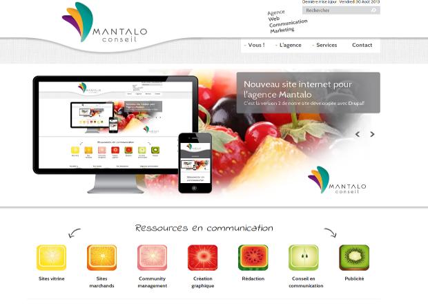 Le site de Mantalo Conseil