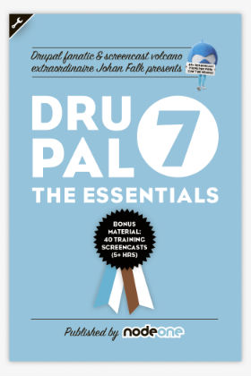 Cover image of Drupal 7 – the Essentials.