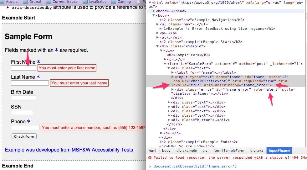 Mark invalid form field with [aria-invalid=true] [#2047075 ...