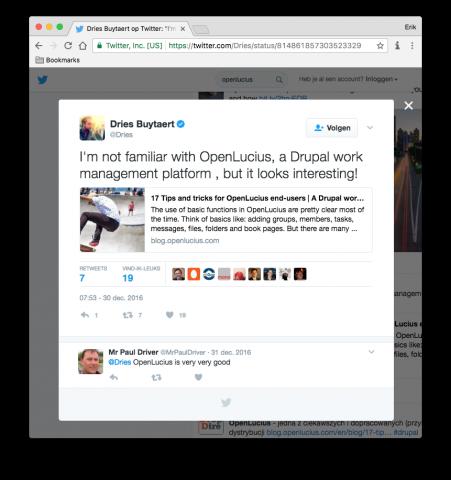 OpenLucius   Drupal org