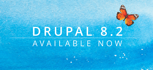 Drupal 8.2 available