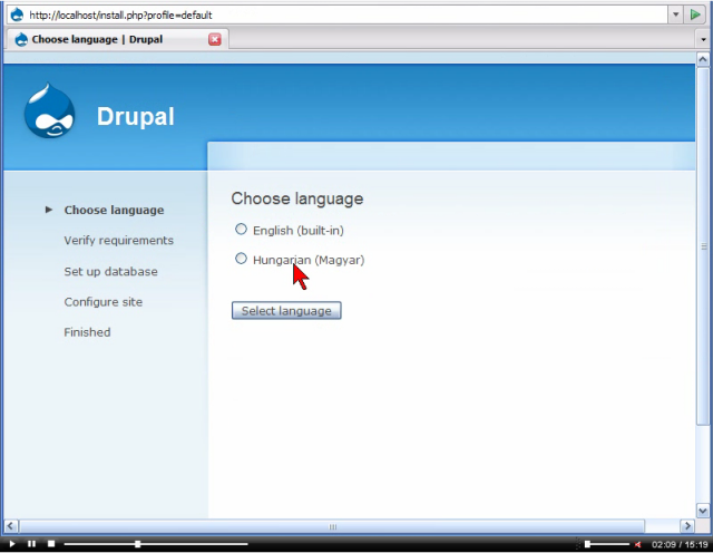 Drupal 6 i18n and l10n internationalization and localization screencast