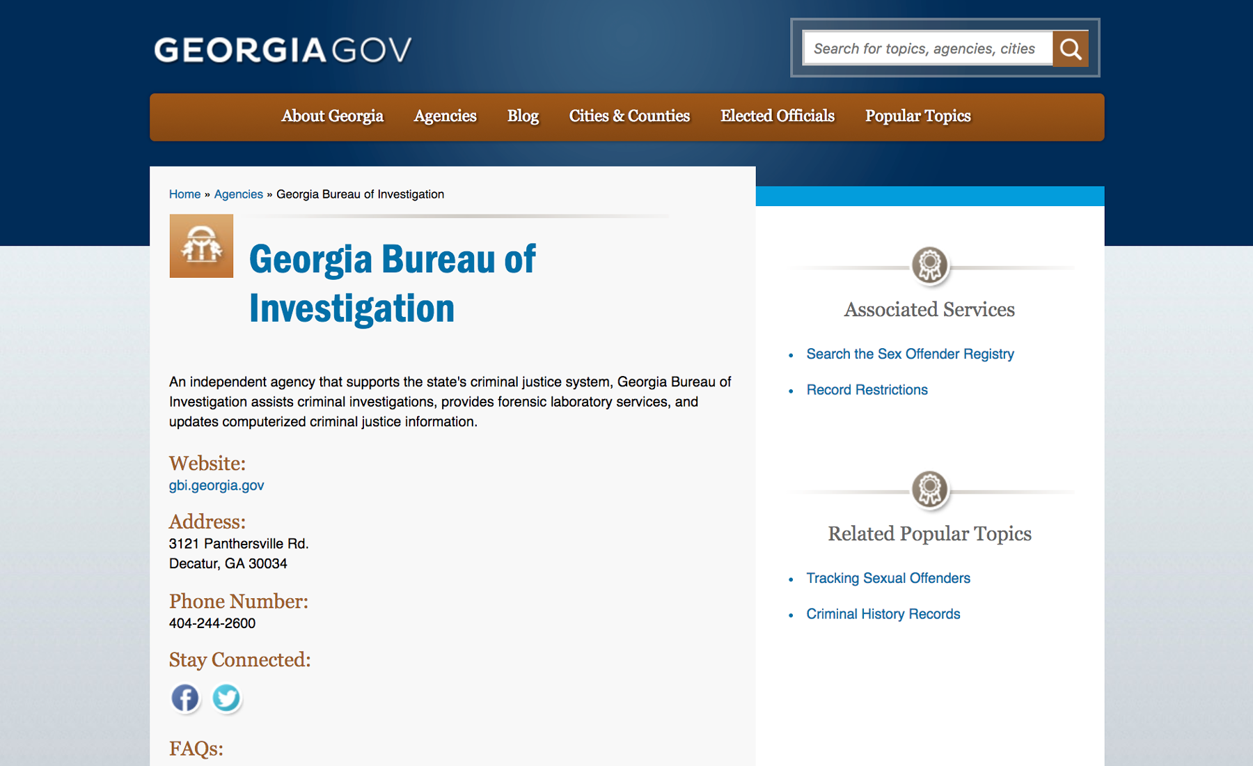 Cutting Costs Increasing Efficiency for the State of Georgia