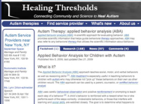 Healing Thresholds ABA Page