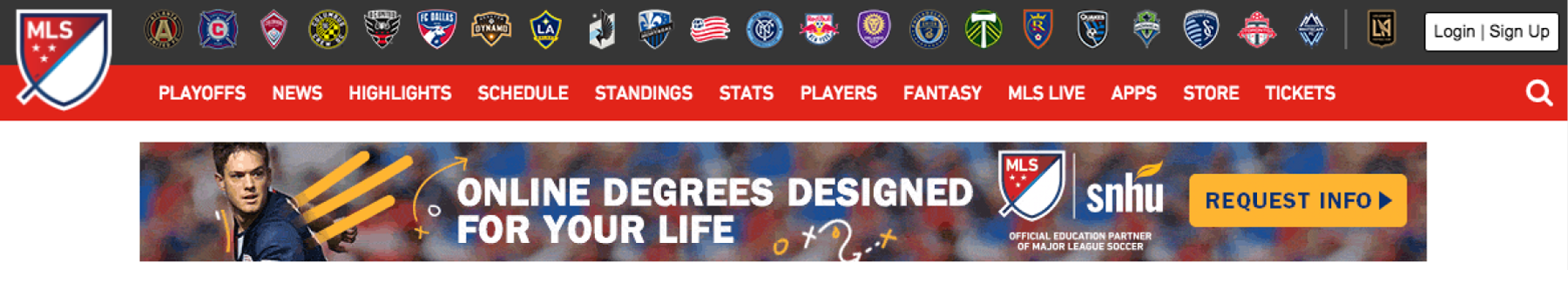 MLS Home Ad