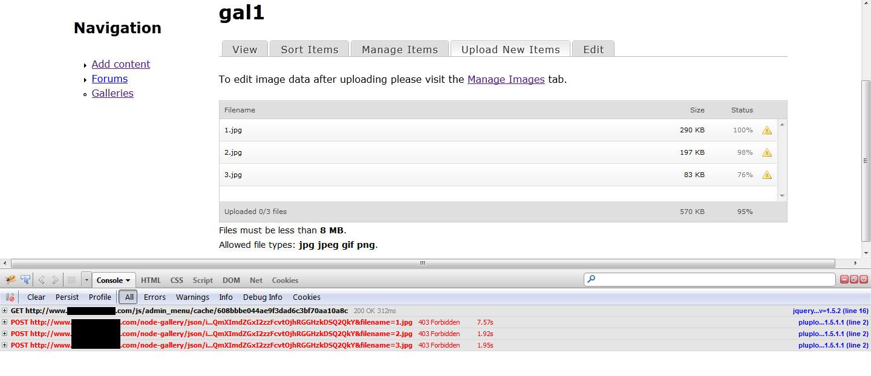 Can't upload images with plupload [#1801730] | Drupal org
