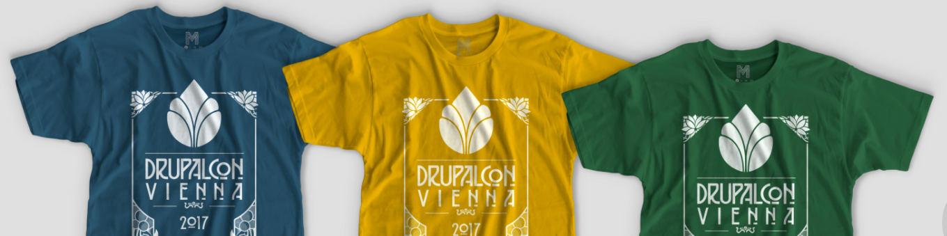 DrupalCon Vienna t-shirts are back! - but there's a catch.