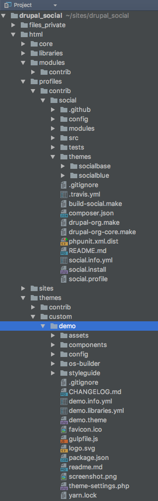 Creating a Living Style Guide with Open Social