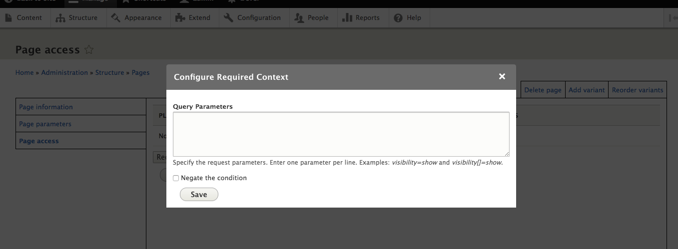 Condition Query | Drupal org