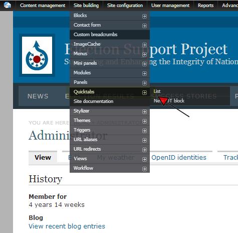 Pimped Quick Tabs Demo - QT, AJAX, Arguments, Views Theming, Google