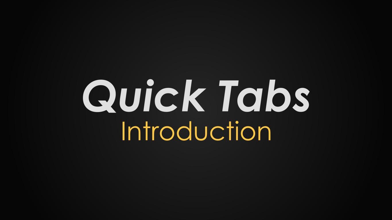 Quick Tabs | Drupal org
