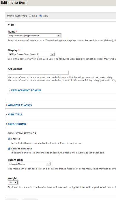 integrate menu views with xml sitemap 2056619 drupal org