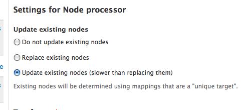 Node import does not update correctly [#1434856] | Drupal org