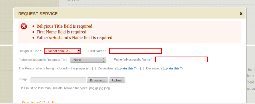 Validations error removed ajax processing from form submit if form ...