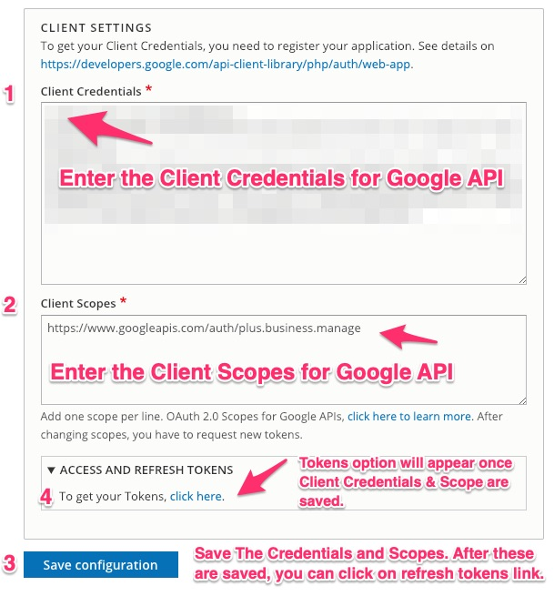 Google API PHP Client | Drupal org