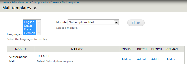 Not Able To Edit Default Email Templates 1827508 Drupalorg