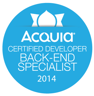 Acquia Certified Backend Specialist