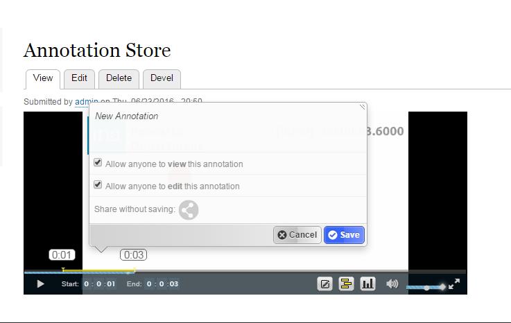 annotation create