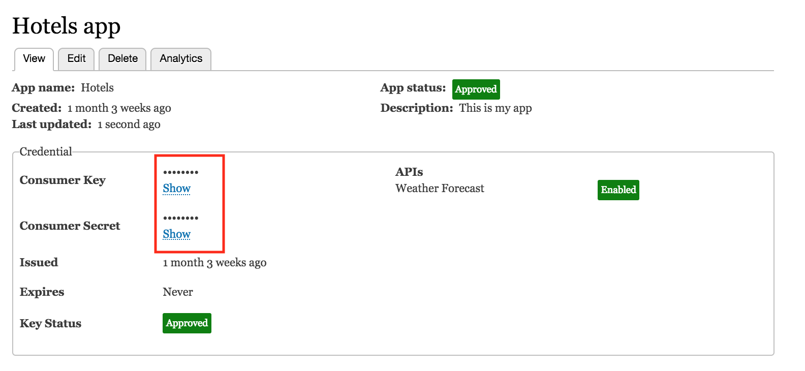 Understand how app developers interact with the Apigee Edge