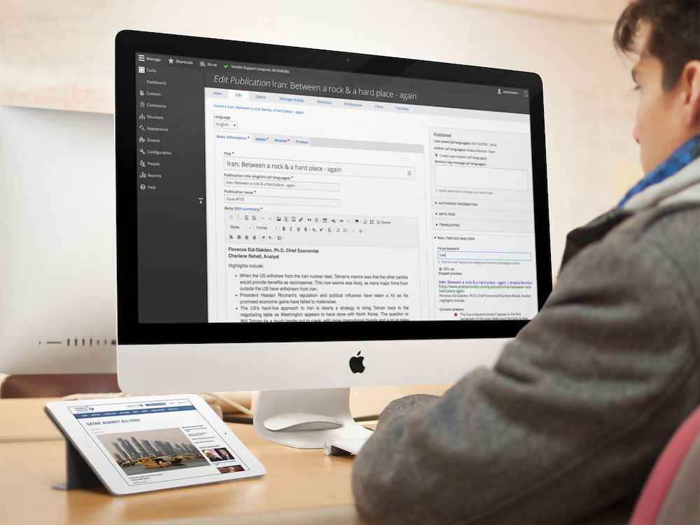 Arabia Monitor Multilingual eCommerce Platform | Drupal org