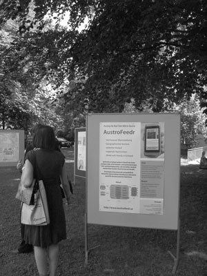 AustroFeedr Poster at Open Government Data Conference 2011
