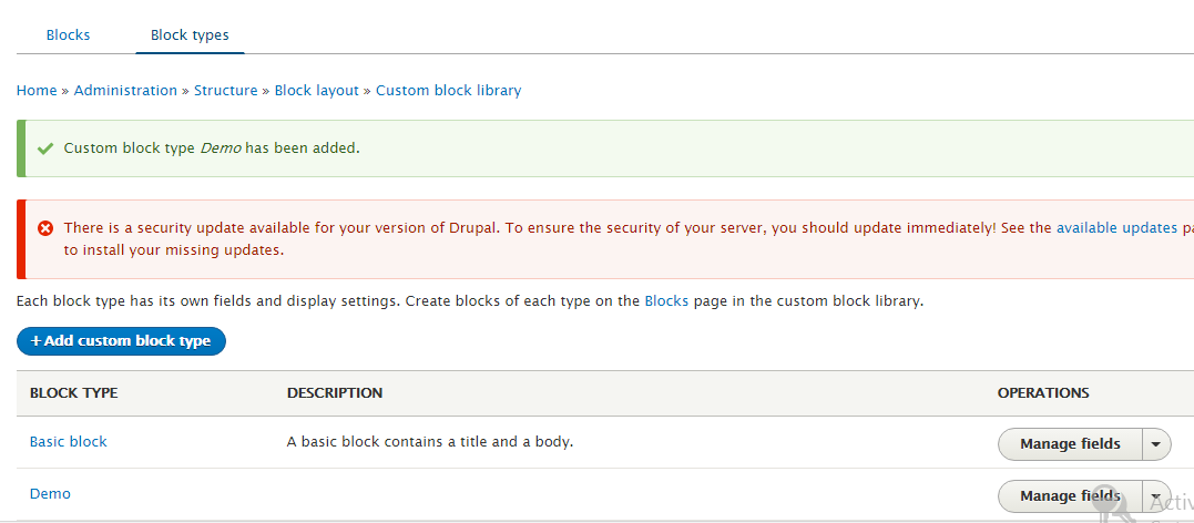 Working with blocks | Drupal 8 guide on Drupal org