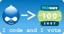 Vote for Drupal in the CNet Webware 100 Awards!
