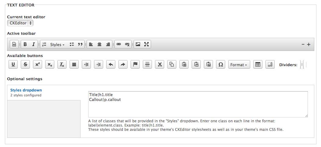 WYSIWYG: Add CKEditor module to core [#1890502] | Drupal org