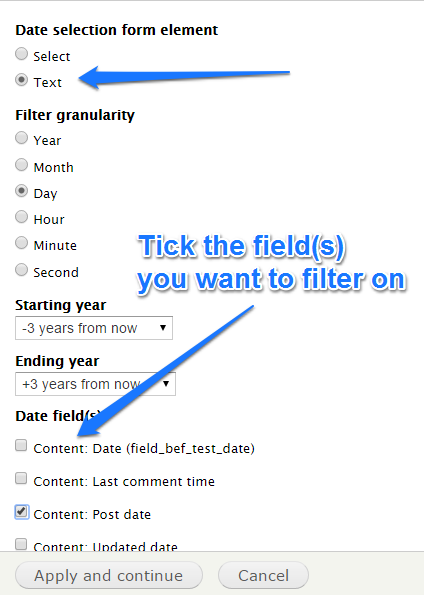 Date Formats and Exposed Filters | Drupal org