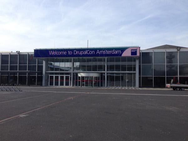 DrupalCon Amsterdam entryway