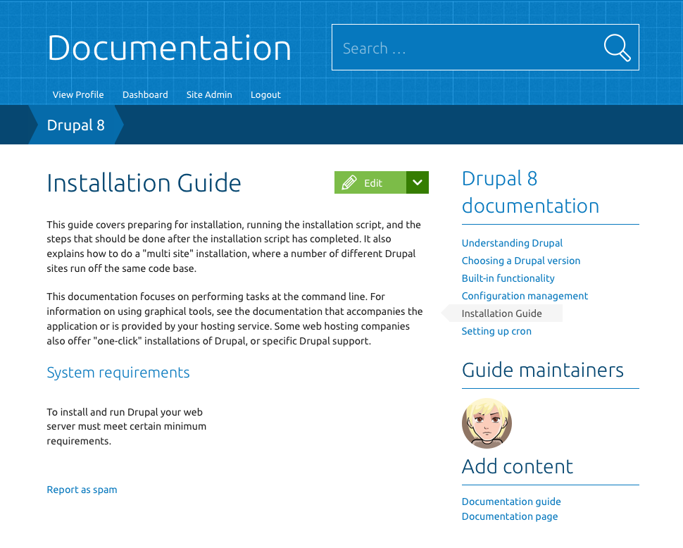 Documentation Preview