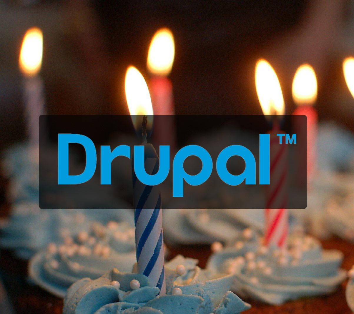 Drupal Birthday Cake