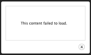 This content failed to load [1606792]  Drupal.org