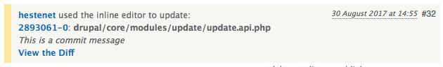 hestenet used the inline editor to update 2893061-1: drupal/core/modules/update/update.api.php - View the diff