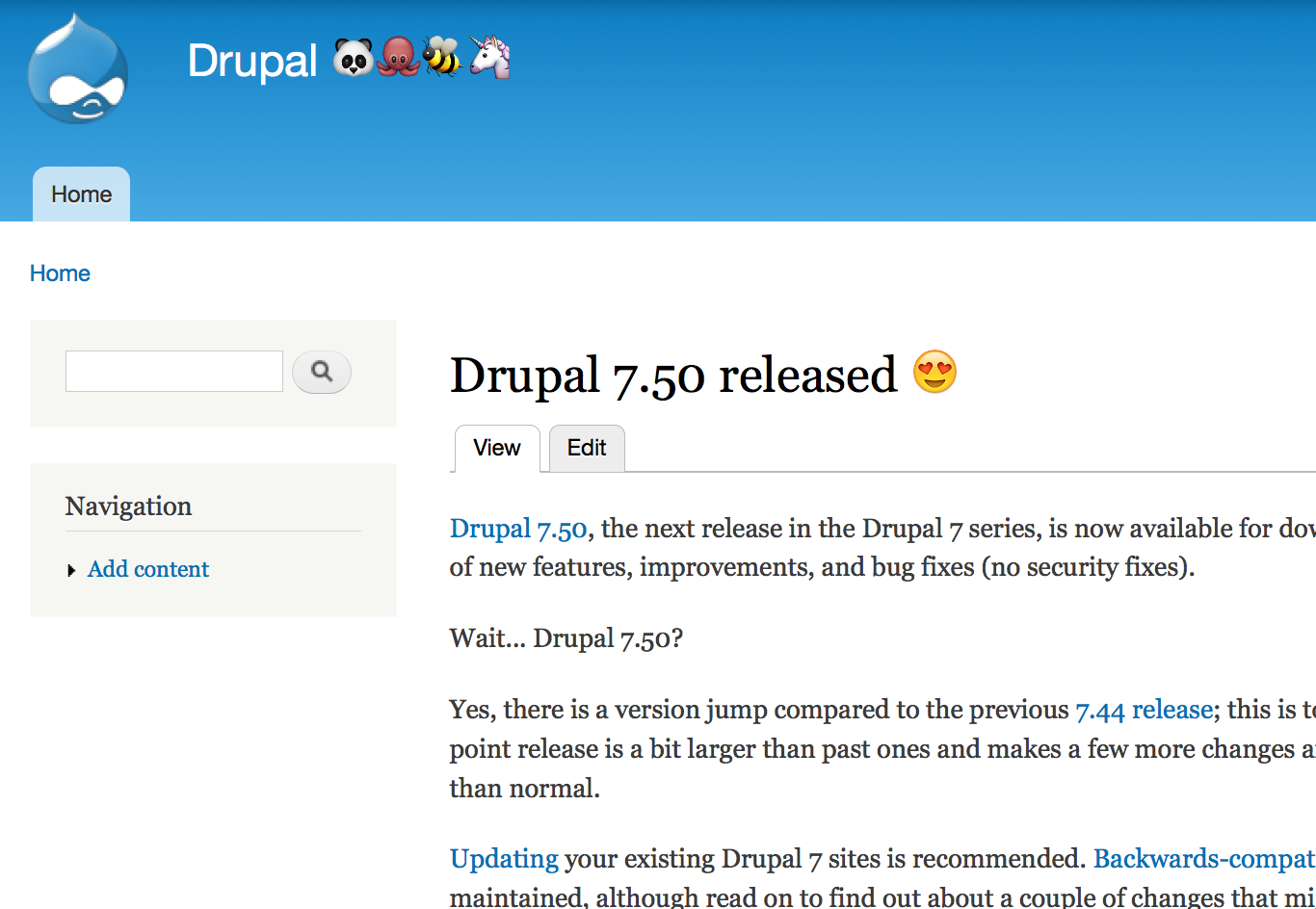 Drupal - Emojis On A Drupal Site