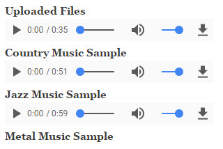AudioField Supported Player Libraries | Drupal 8 guide on Drupal org