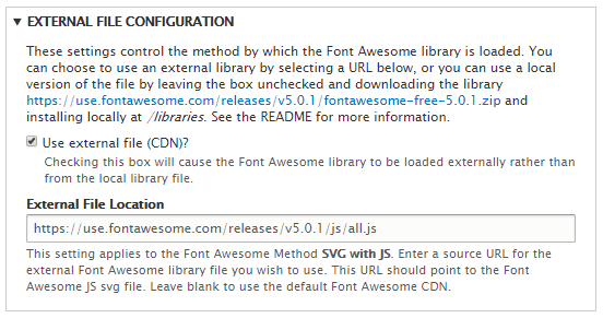 Installing Font Awesome Icons | Drupal 8 guide on Drupal org