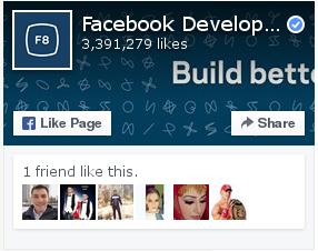 Facebook Page plugin default