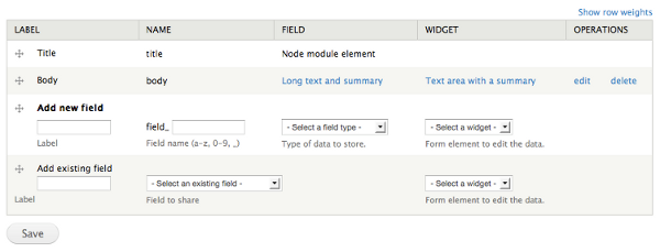 Working with content types and fields   Drupal 8 guide on
