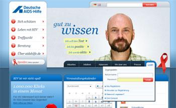 Case Study: www.aidshilfe.de relaunch