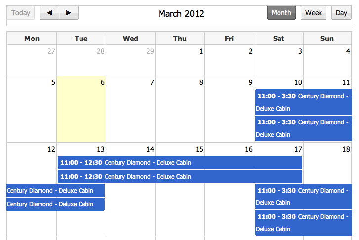 Fullcalendar Walk through with AngularJS
